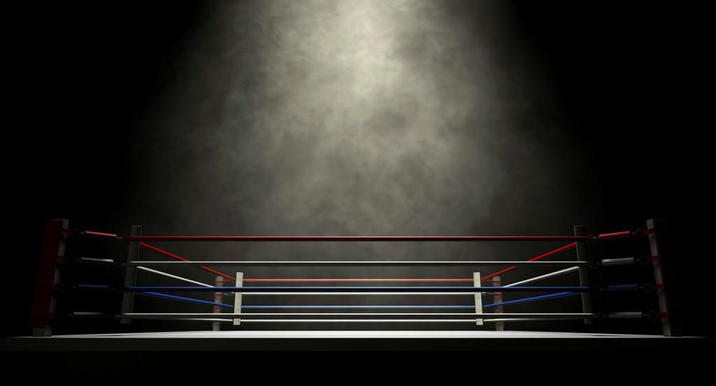 Full Size Boxing Ring at Australian Shukokai Karate Dandenong